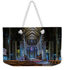 Weekender Tote Bag featuring the photograph Cathedral Of Saint John The Divine by Chris Lord