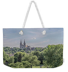 Weekender Tote Bag featuring the photograph Cathedral Of St Joseph #2 by Susan Rissi Tregoning