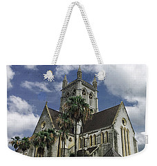 Cathedral Of The Most Holy Trinity Bermuda Weekender Tote Bag