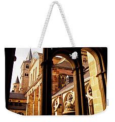 Cathedral Of Trier Window Weekender Tote Bag