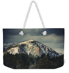 Weekender Tote Bag featuring the photograph Cathedral Rock by Christopher Meade