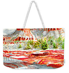 Cathedral Rock Crossing Weekender Tote Bag
