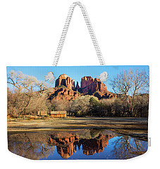 Cathedral Rock, Sedona Weekender Tote Bag by Barbara Manis