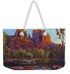 Cathedral Rock, Sedona Weekender Tote Bag