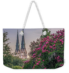 Cathedral Spires At Sunset Weekender Tote Bag by Rob Sellers