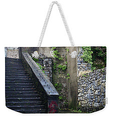 Cathedral Stairs Weekender Tote Bag