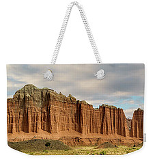 Cathedral Valley Wall Weekender Tote Bag by Gary Warnimont