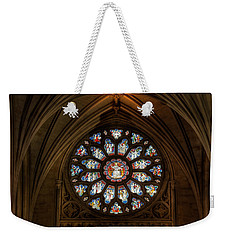 Cathedral Window Weekender Tote Bag