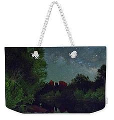 Cathedrals' Nights Weekender Tote Bag