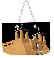 St Francis De Assi Church  New Mexico Weekender Tote Bag by Bob Christopher