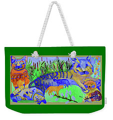 Cats And A Fiddle Weekender Tote Bag