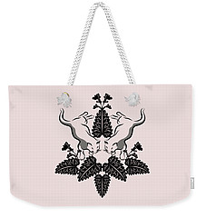 Cats And Catnip Graphic Weekender Tote Bag by MM Anderson