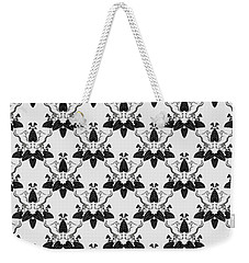 Cats And Catnip Pattern Weekender Tote Bag by MM Anderson