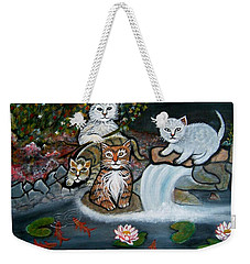 Cats In The Wild Weekender Tote Bag