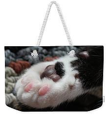 Cats Paw Weekender Tote Bag by Kim Henderson