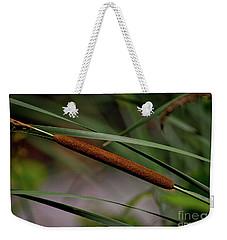 Cattail II Weekender Tote Bag