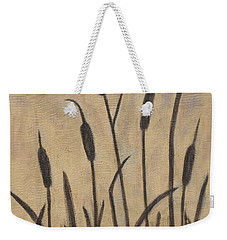 Cattails 2 Weekender Tote Bag by Trish Toro