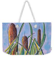 Cattails #5 Weekender Tote Bag