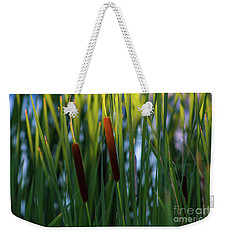 Cattails  Weekender Tote Bag