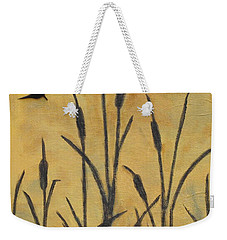 Cattails I Weekender Tote Bag by Trish Toro