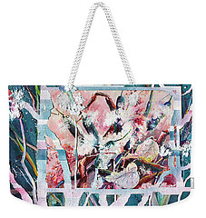 Cattails Six Weekender Tote Bag