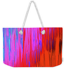 Weekender Tote Bag featuring the photograph Cattails by Tony Beck
