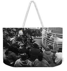 Cattle And Horse Auction Weekender Tote Bag