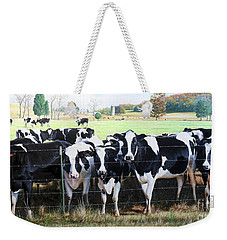 Cattle Call Weekender Tote Bag
