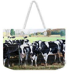 Cattle Call Weekender Tote Bag