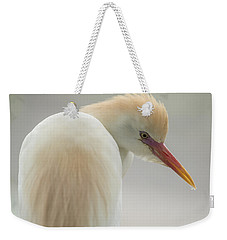 Cattle Egret Profile Weekender Tote Bag