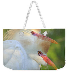 Cattle Egrets In Breeding Plumes Weekender Tote Bag