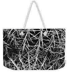 Weekender Tote Bag featuring the photograph Catus by Joan Reese