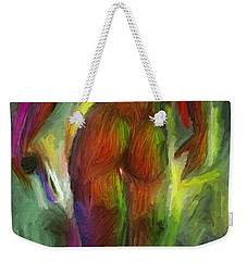 Catwalk Into The Light Weekender Tote Bag