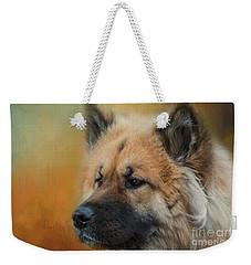 Caucasian Shepherd Dog Weekender Tote Bag by Eva Lechner