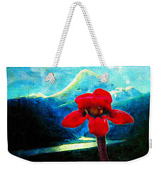 Caucasus Love Flower II Weekender Tote Bag by Anastasia Savage Ealy