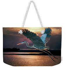 Caught In The Afterglow Weekender Tote Bag