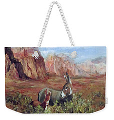 Caught In The Brush Weekender Tote Bag