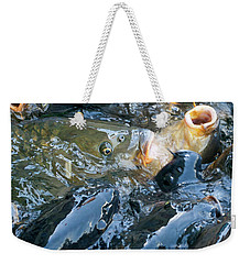 Caught In The Masses Weekender Tote Bag