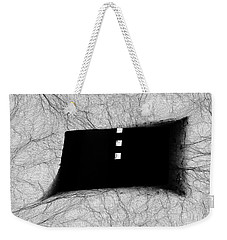 Caught In The Web  Weekender Tote Bag by Kandy Hurley