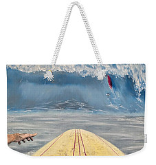 Caught Inside Weekender Tote Bag