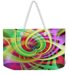 Caught Up In A Colorful Swirl Weekender Tote Bag