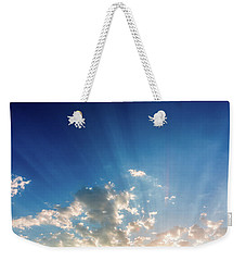 Weekender Tote Bag featuring the photograph Cause For Hope by SR Green