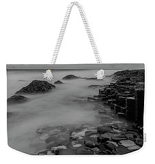 Weekender Tote Bag featuring the photograph Causeway Stones by Roy McPeak