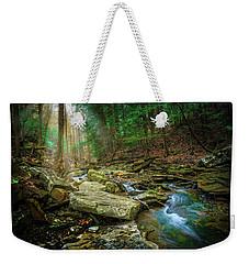 Cave Branch #9 Weekender Tote Bag