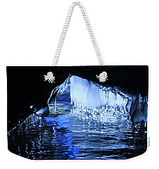 Weekender Tote Bag featuring the photograph Cave Dwellers by Sean Sarsfield