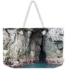 Cave Entrance Weekender Tote Bag by Yurix Sardinelly