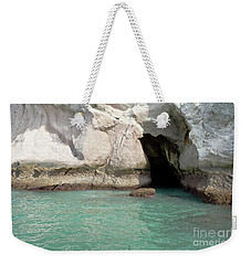 Cave Entranve Weekender Tote Bag by Yurix Sardinelly