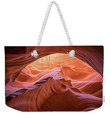 Weekender Tote Bag featuring the photograph Cave Of Dreams by Patricia Davidson
