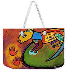 Cave Rat Weekender Tote Bag