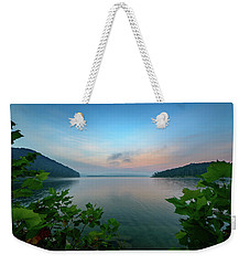 Cave Run Morning Weekender Tote Bag